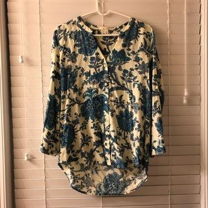 Cute floral blouse from Francesca's